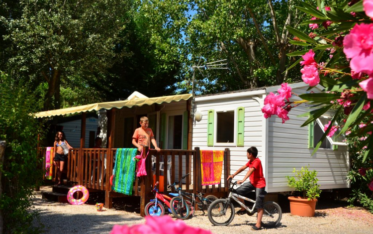 Camping Sud Loisirs à Agde - Mobil-home