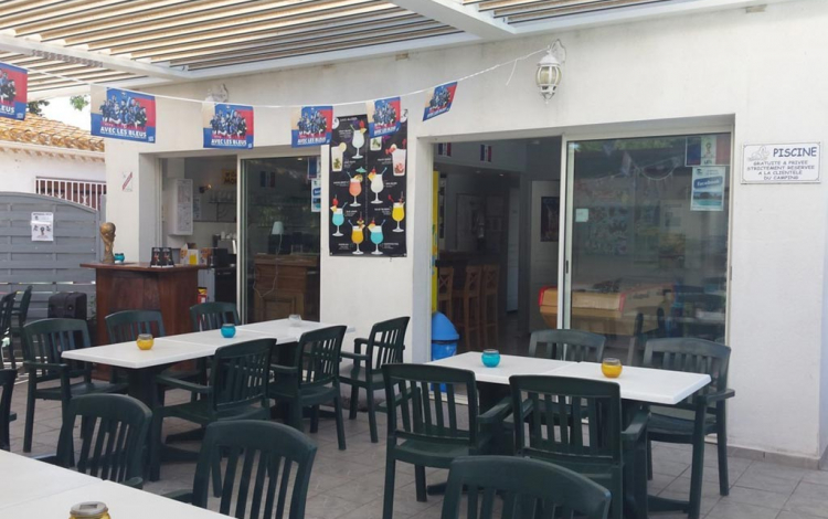 Camping Les Roches d'Agde*** à Agde - Snack-bar