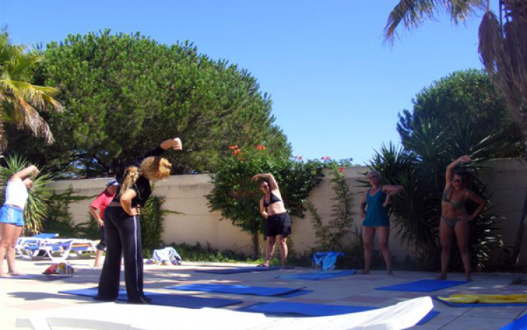 Camping Le Rochelongue-Animation sportive, Fitness