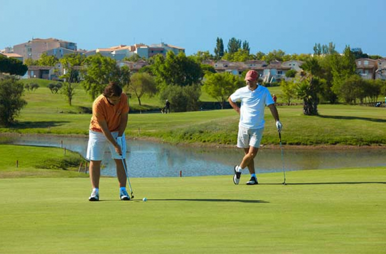 Le golf international du Cap d'Agde : 27 trous face à la mer